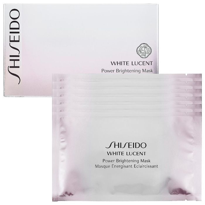 White Lucent Power Brightening Mask 6 x 0.91 oz Sheets/ 6 x 26 mL Sheets