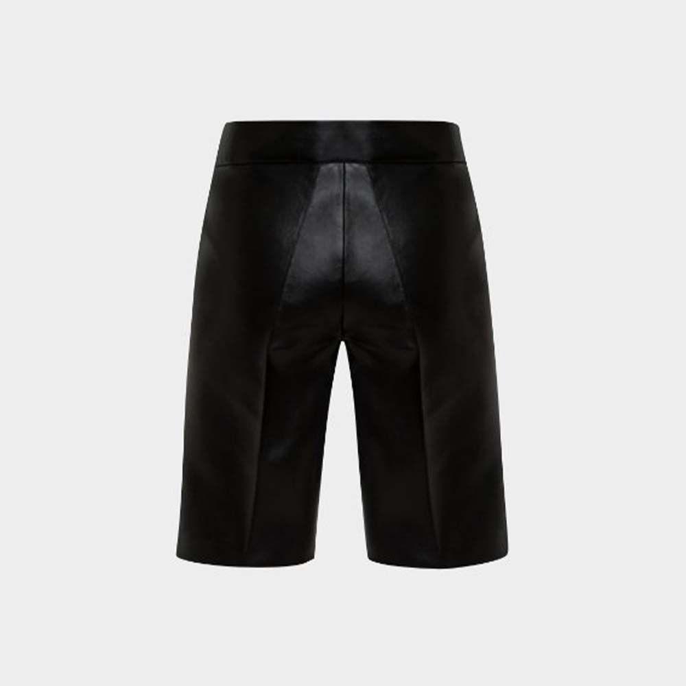 Lado Bokuchava - Vegan Leather Shorts
