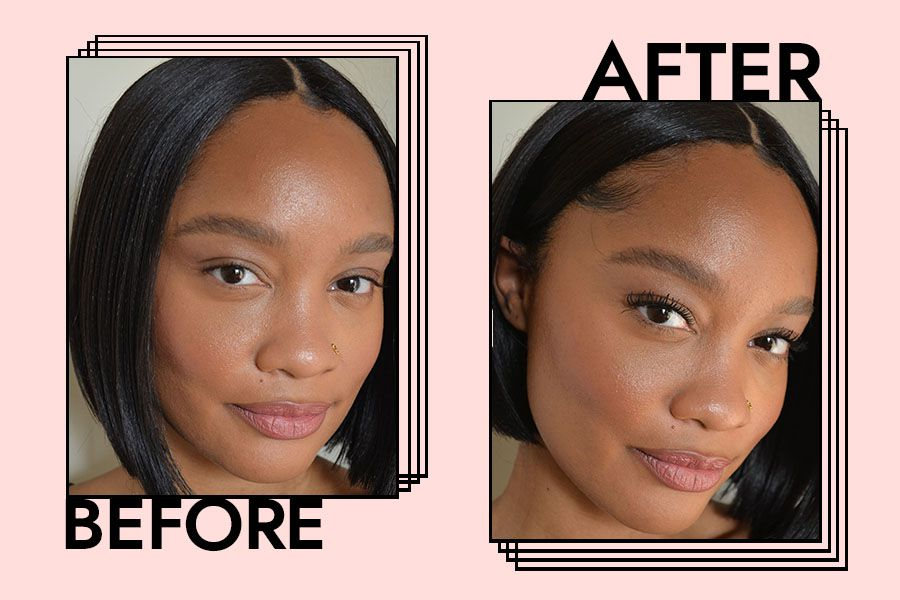 ilia limitless mascara before and after