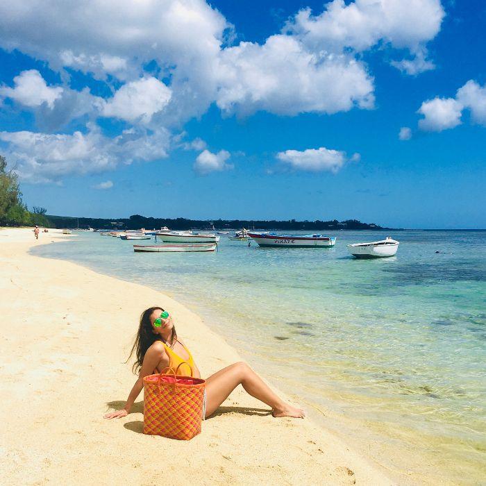 Mauritian Beauty: Aurelie Ollivry