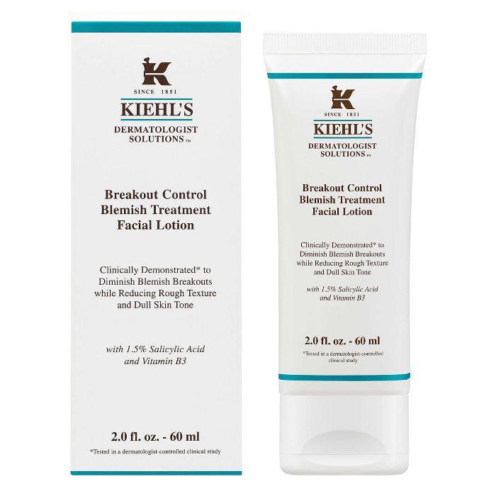 jaw acne: Kiehl's Breakout Control Blemish Treatment Facial Lotion