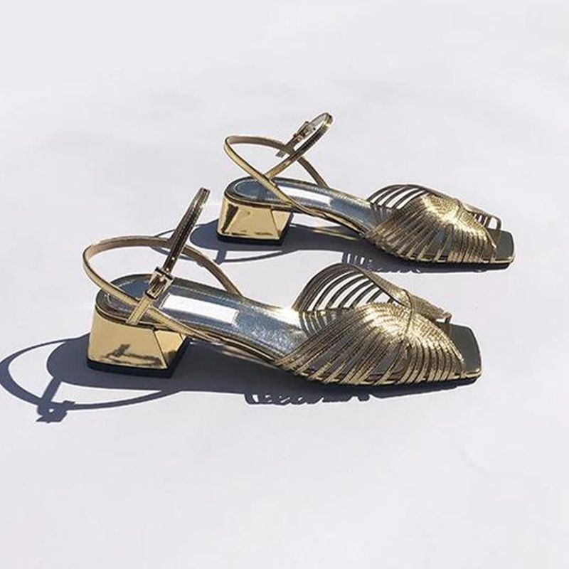 Suzanne Rae Low 70s Sandal