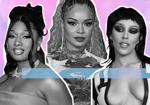 2021 Grammys Beauty Looks