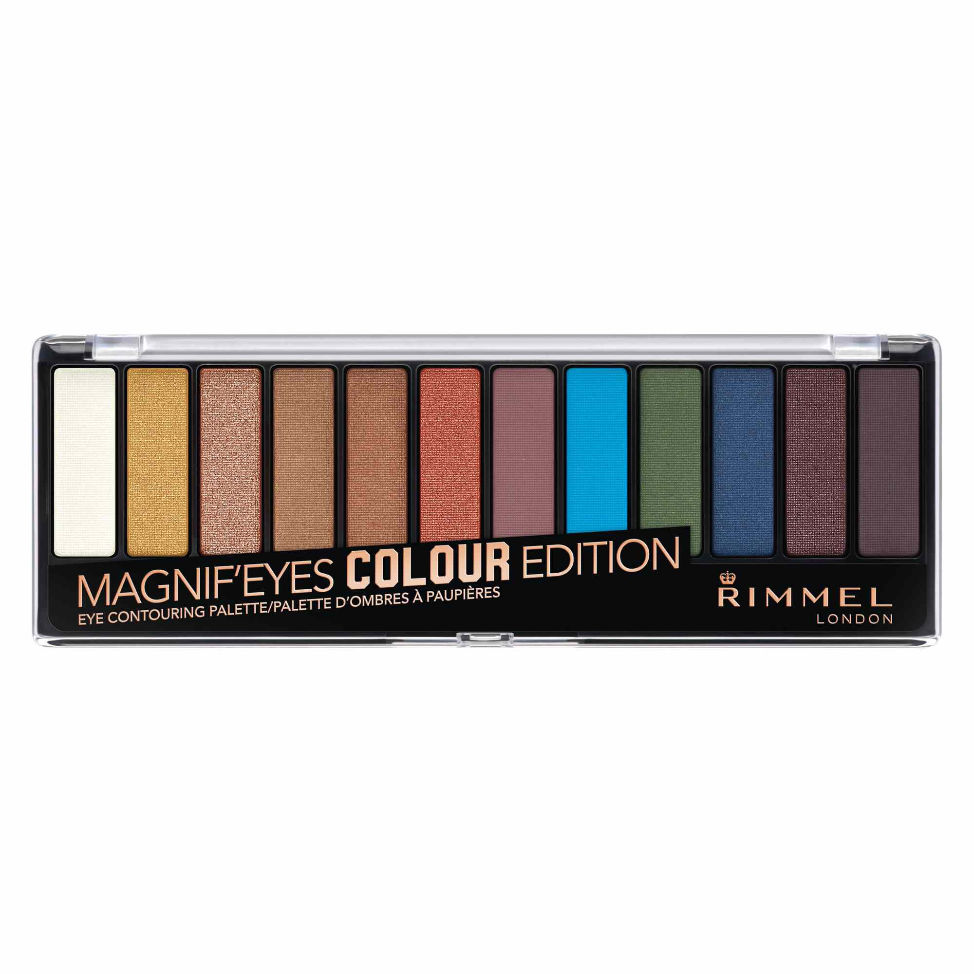 Rimmel London Magnif'eyes Colour Edition Eyeshadow Palette