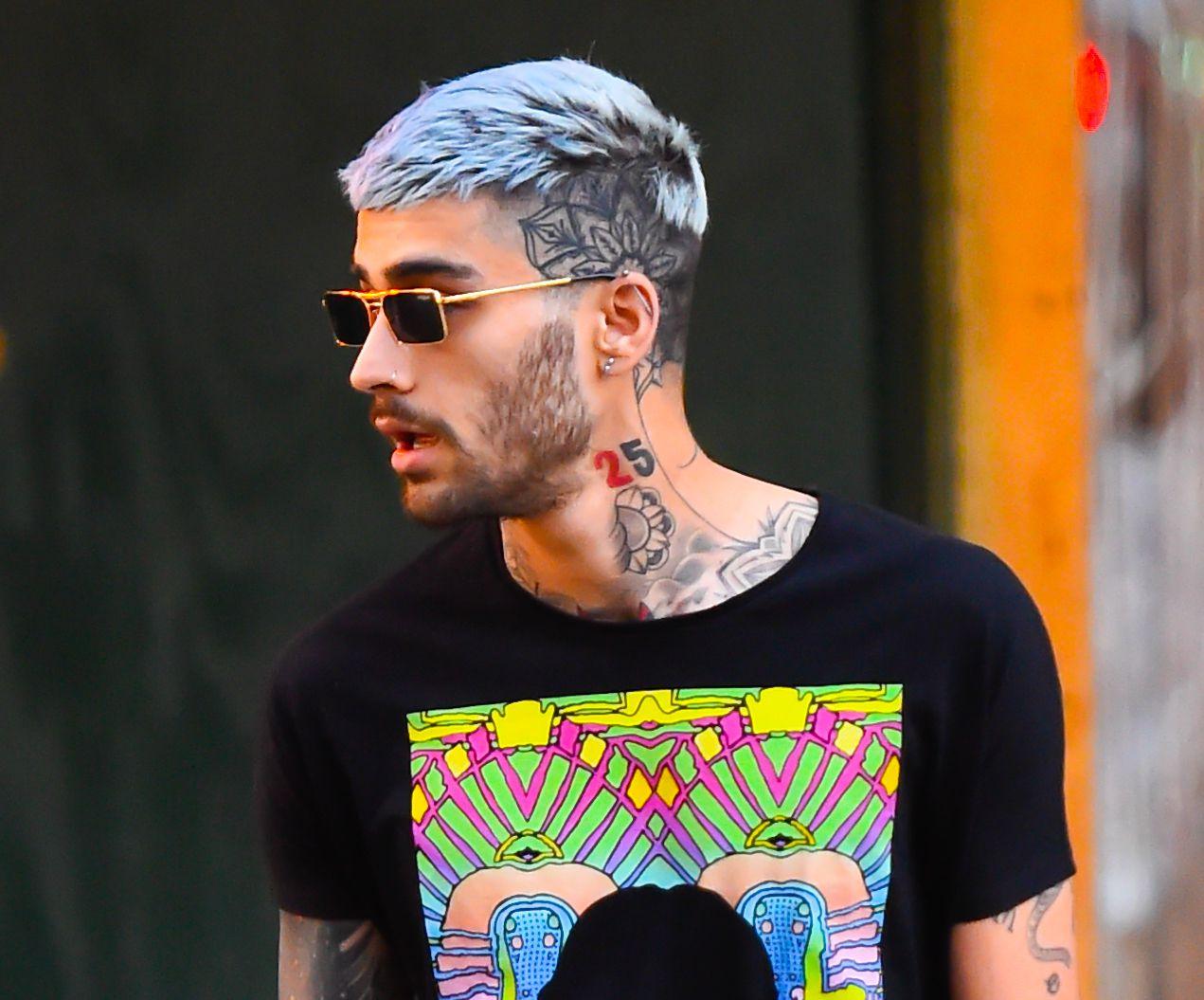 Zayn blue hair