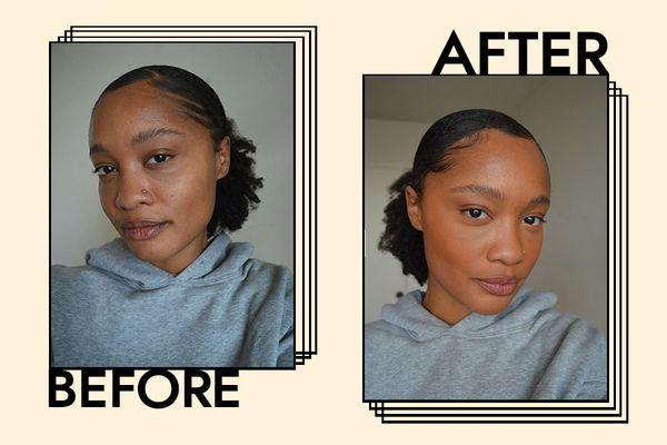 Maybelline Fit Me Concealer: Before & After