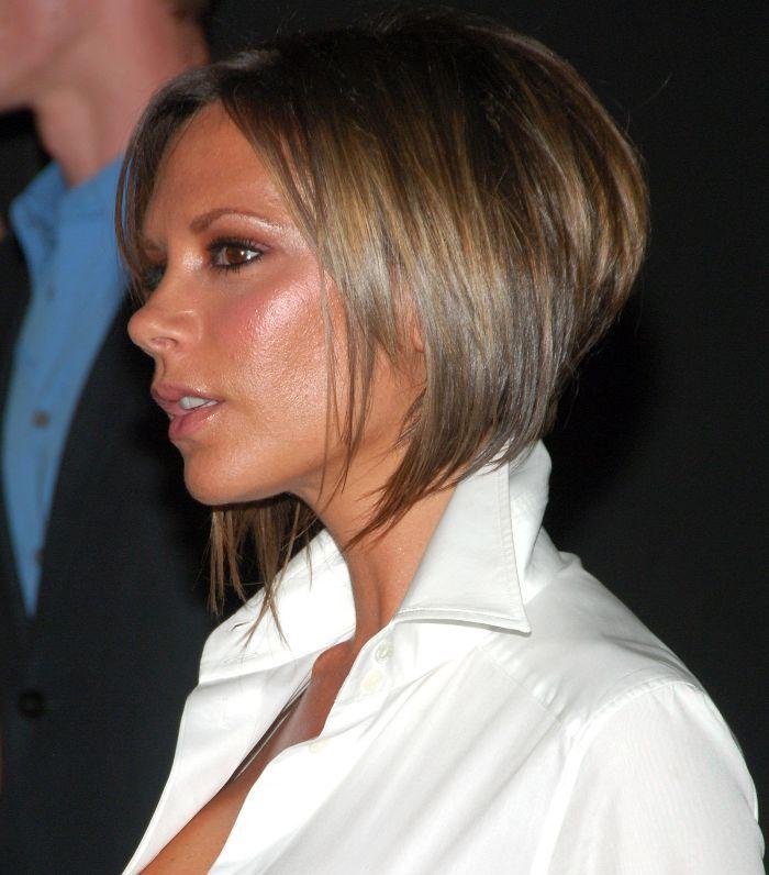 Victoria Beckham Hair: Victoria Beckham with cropped bob