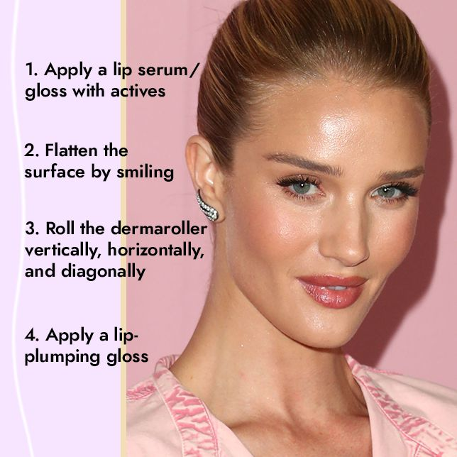 How To Get Plumper Lips With a Dermaroller