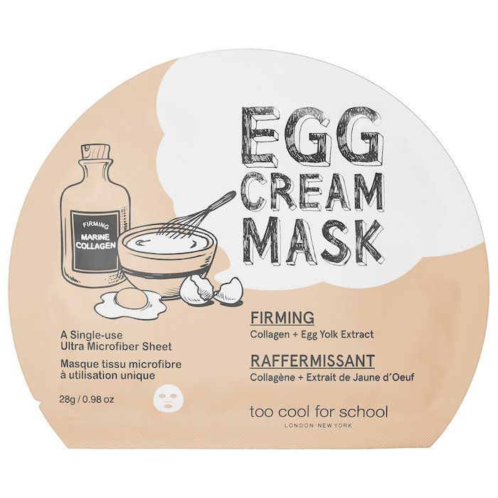 Zendaya's skincare routine mask