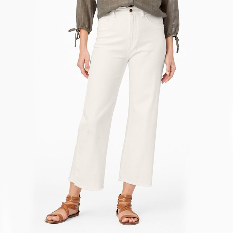 DL1961 Hepburn Wide-Leg High-Rise Vintage Jeans