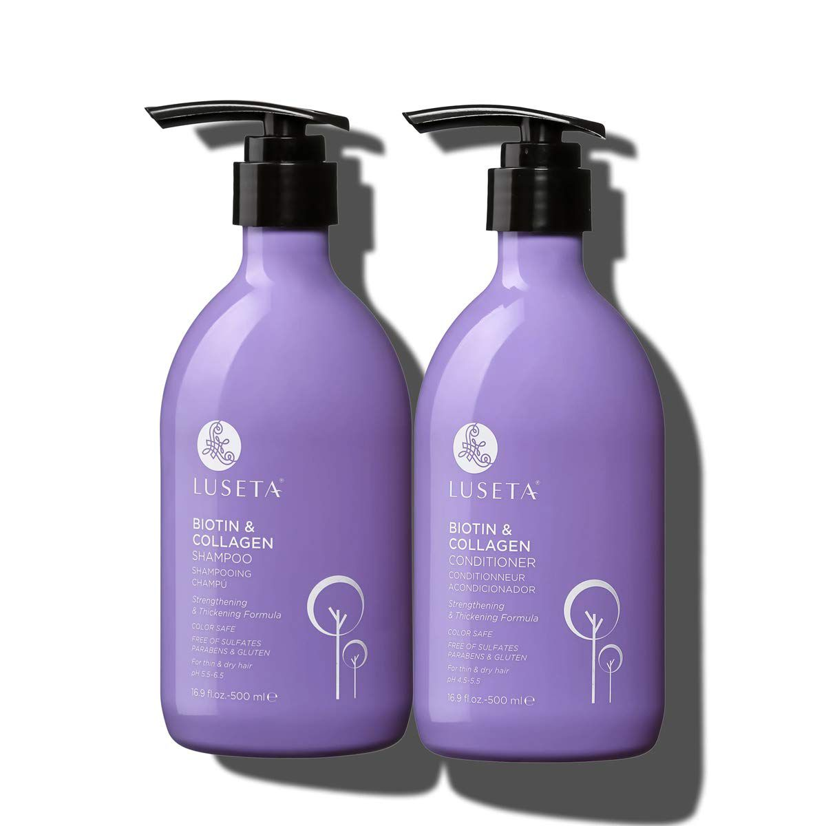 Luseta Biotin & Collagen Shampoo & Conditioner Set