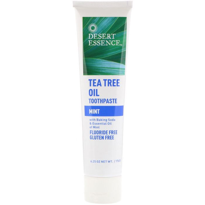 Desert Essence Tea Tree Oil Mint Toothpaste (3 pack)