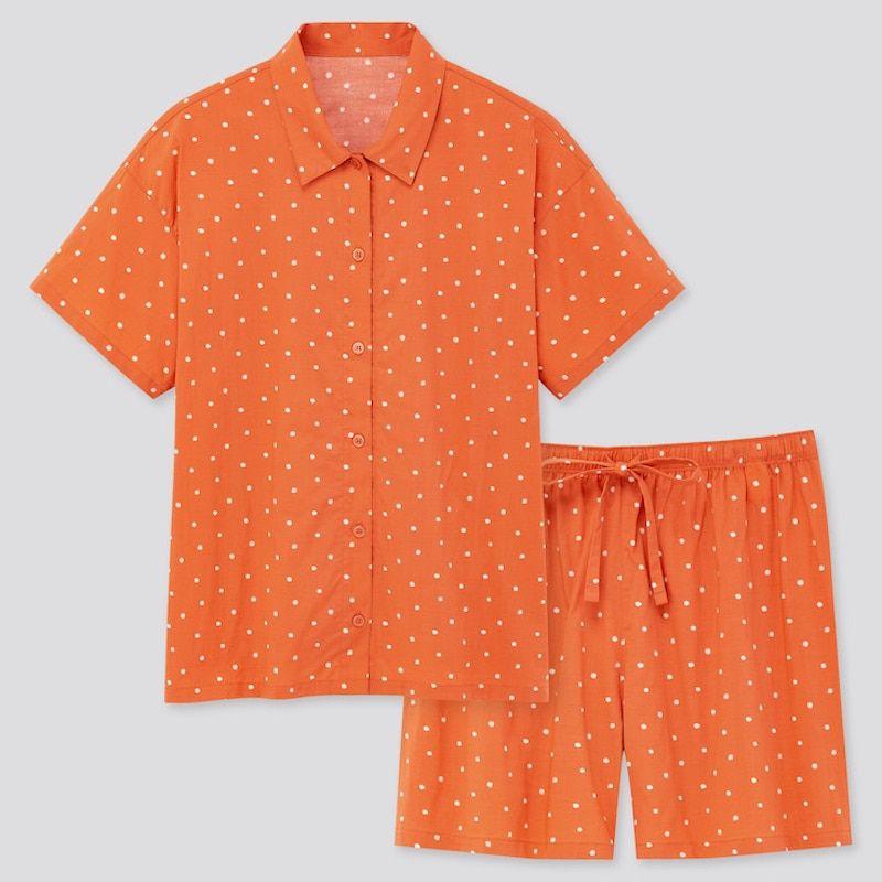 Uniqlo Soft Stretch Short Set Pajamas