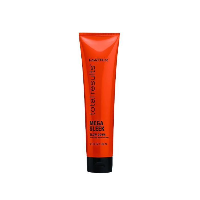 Total Results Mega Sleek Blow Down Smoothing Leave-In Cream