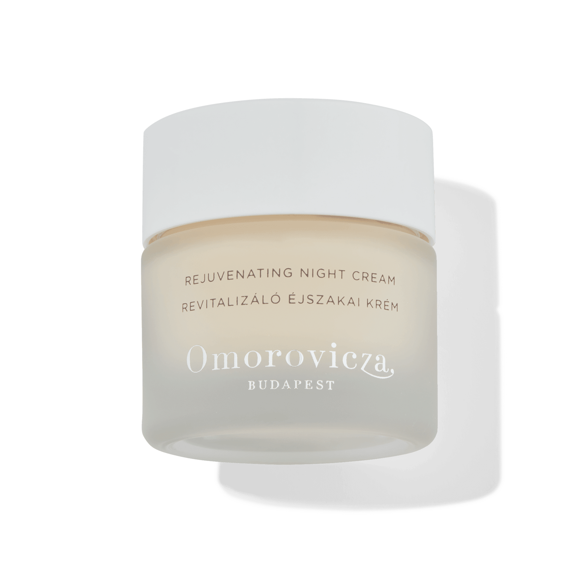 omorovicza rejuvenating night cream in a tub