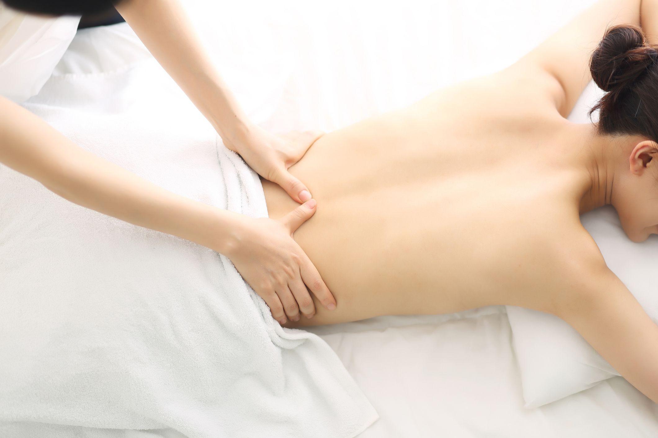 Down went me on therapist my massage 2021 Massage