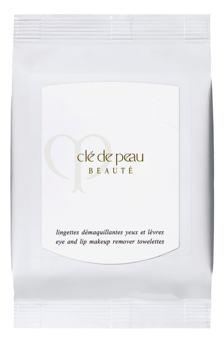 Clé de Peau Beauté Eye & Lip Makeup Remover Sheets