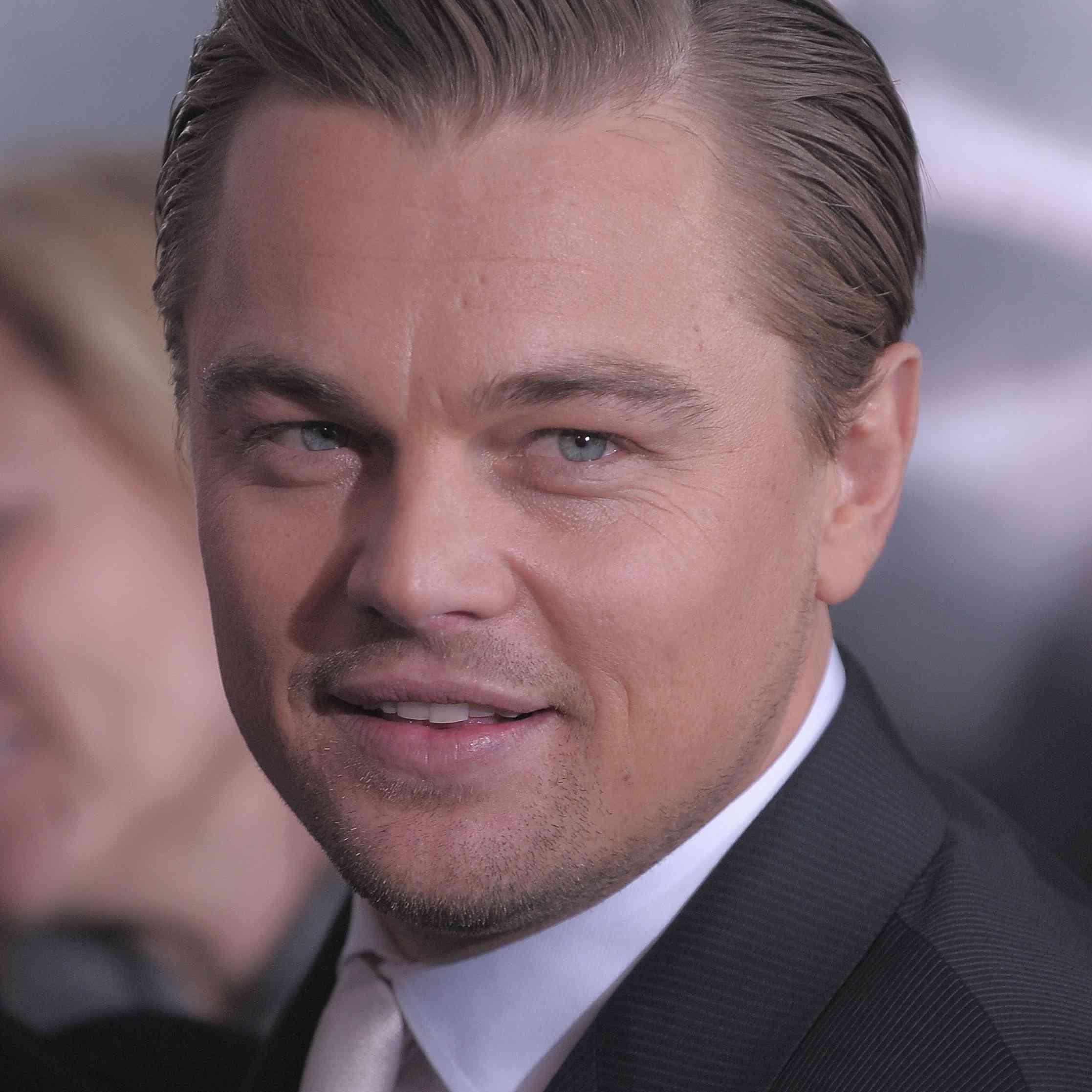 Leonardo DiCaprio Hair 2010