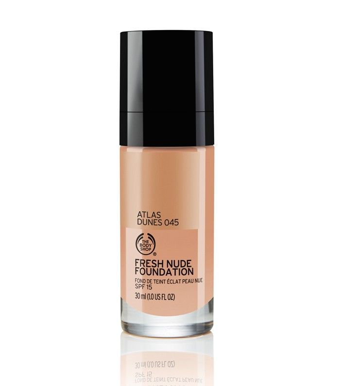 best foundation for oily skin: The Body Shop Fresh Nude Foundation