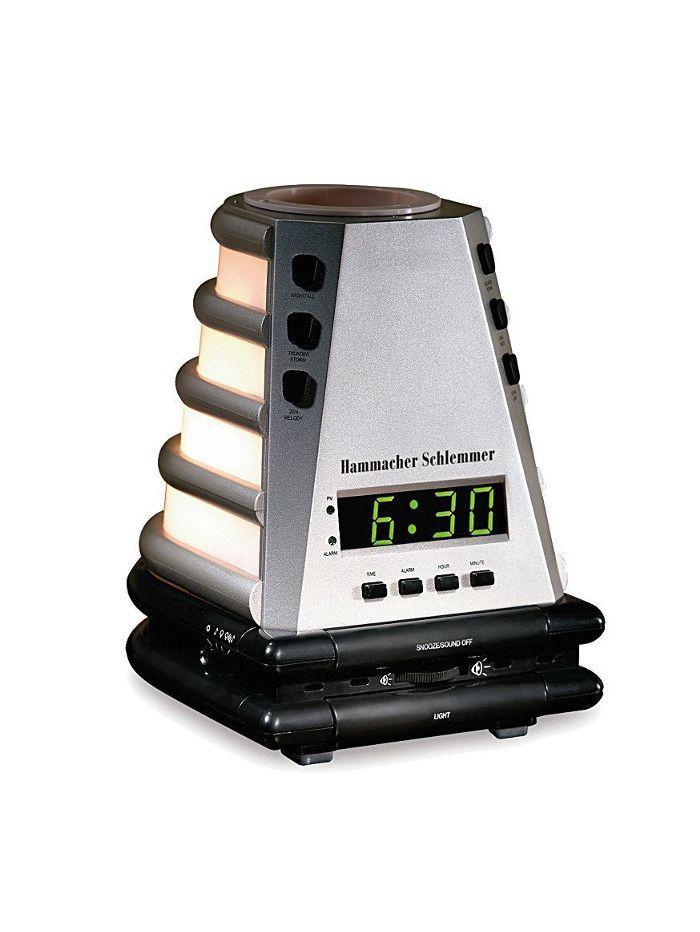 Hammacher Schlemmer The Peaceful Progression Clock