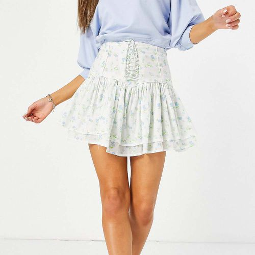 Ruffle Mini Skirt ($36)