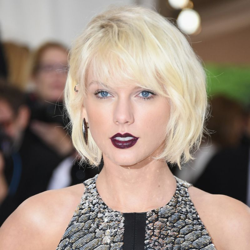 White Blonde Hair Taylor Swift