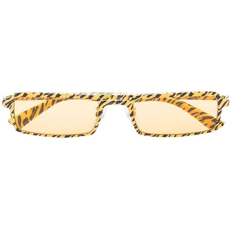 Tiger Rectangular-Frame Sunglasses