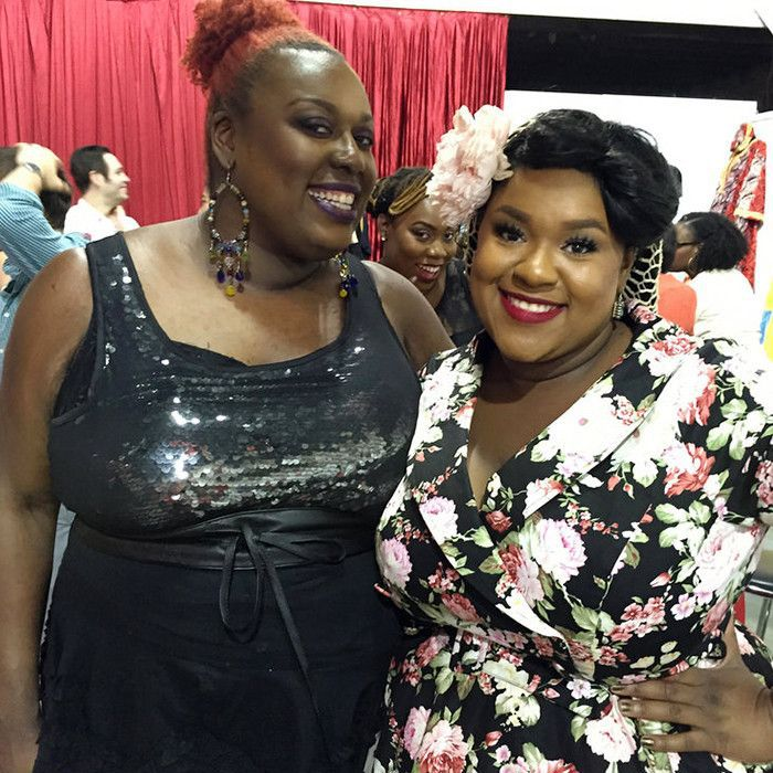 Magnolia Makeup founders Niala and Tia Howard