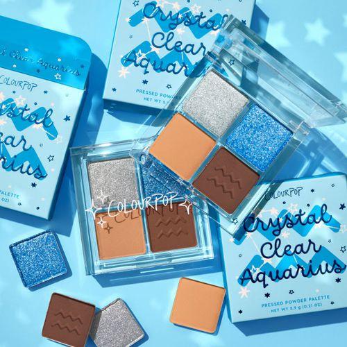 ColourPop Cosmetics Crystal Clear Aquarius Shadow Palette