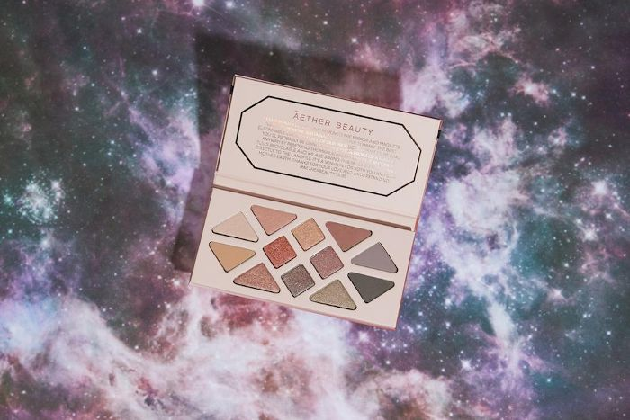 Aether Beauty Rose Quartz Gemstone Palette