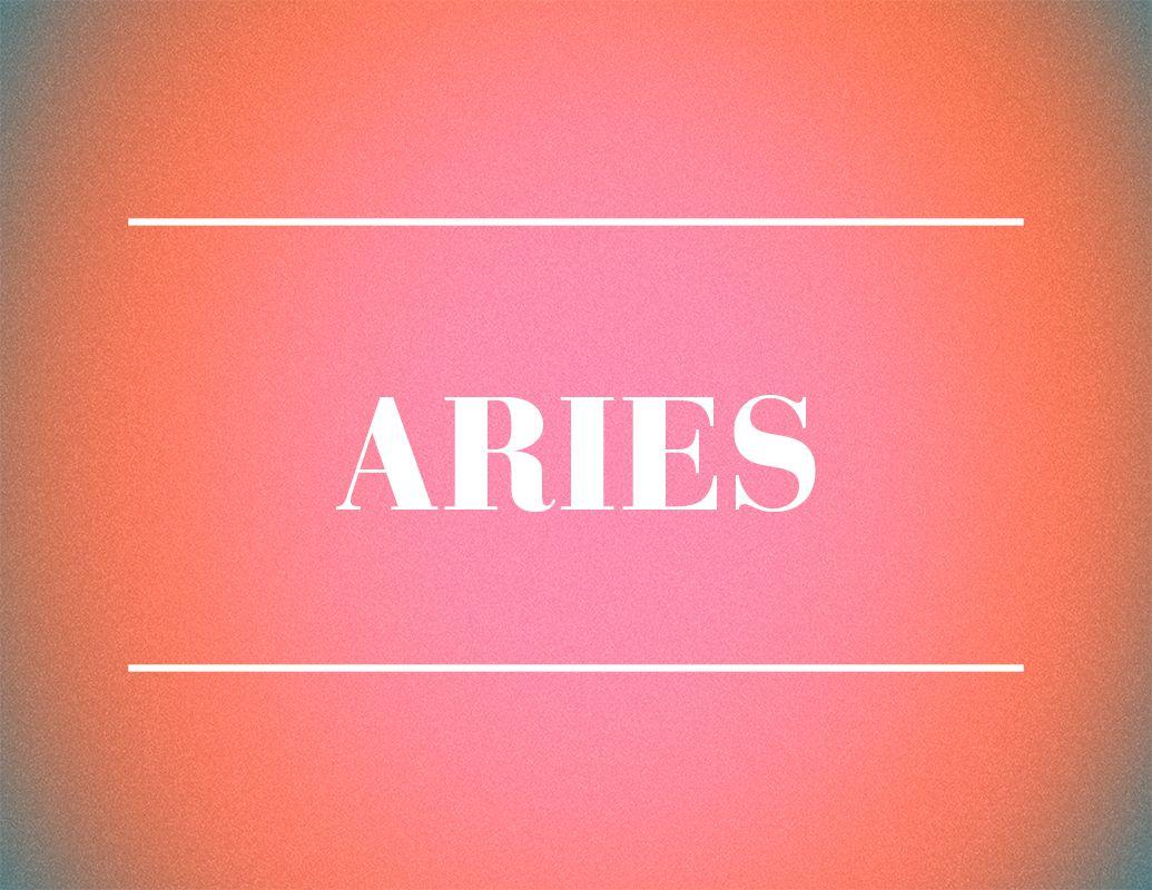 aries zodiac sign design