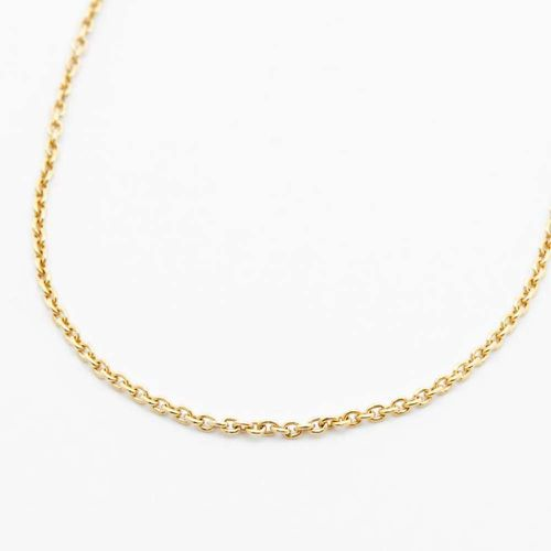 Cable Chain Necklace ($72)