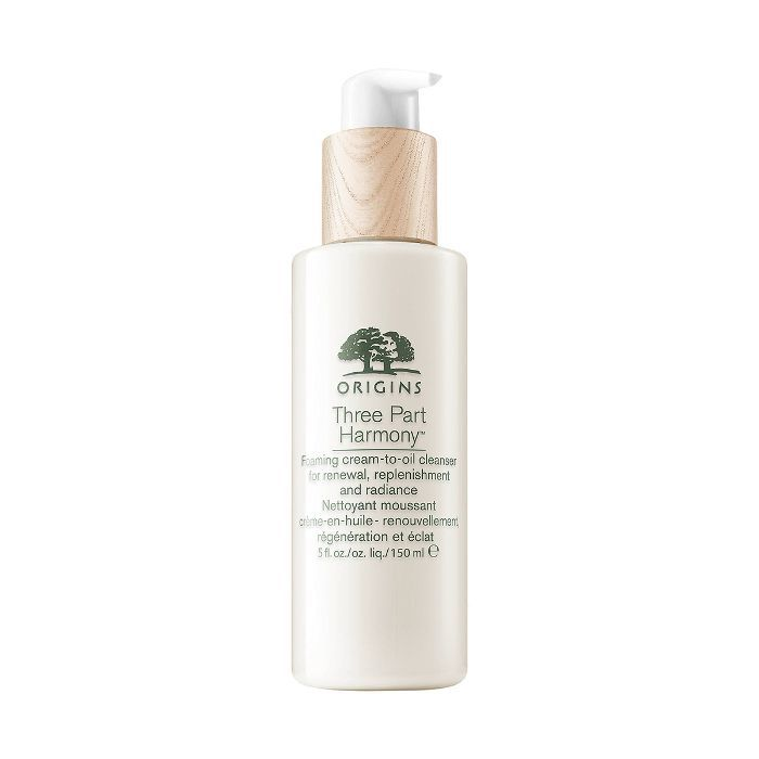 Origins Three Part Harmony Foaming Cream-to-Oil Cleanser