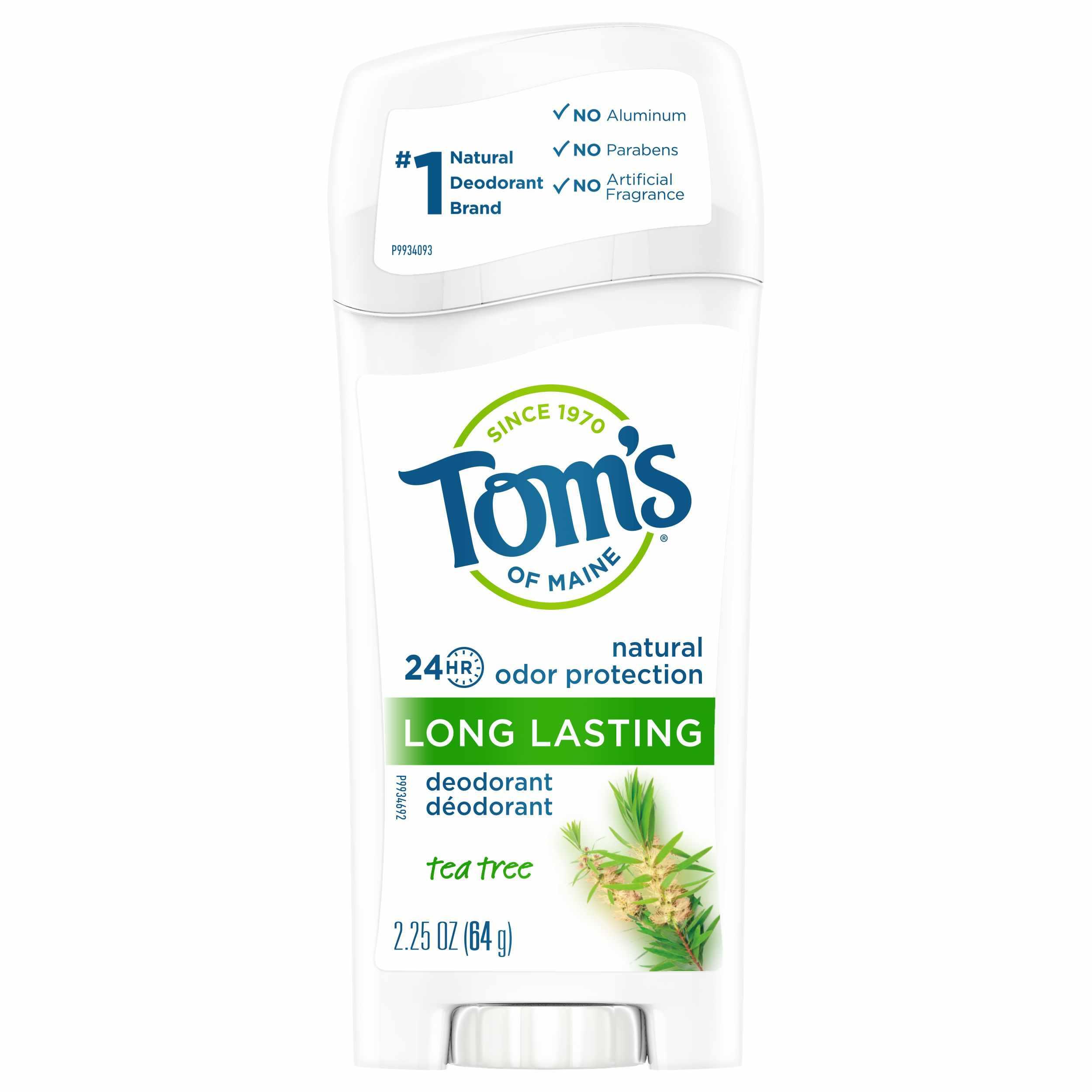 Tom's of Maine Natural Deodorant Tea Tree