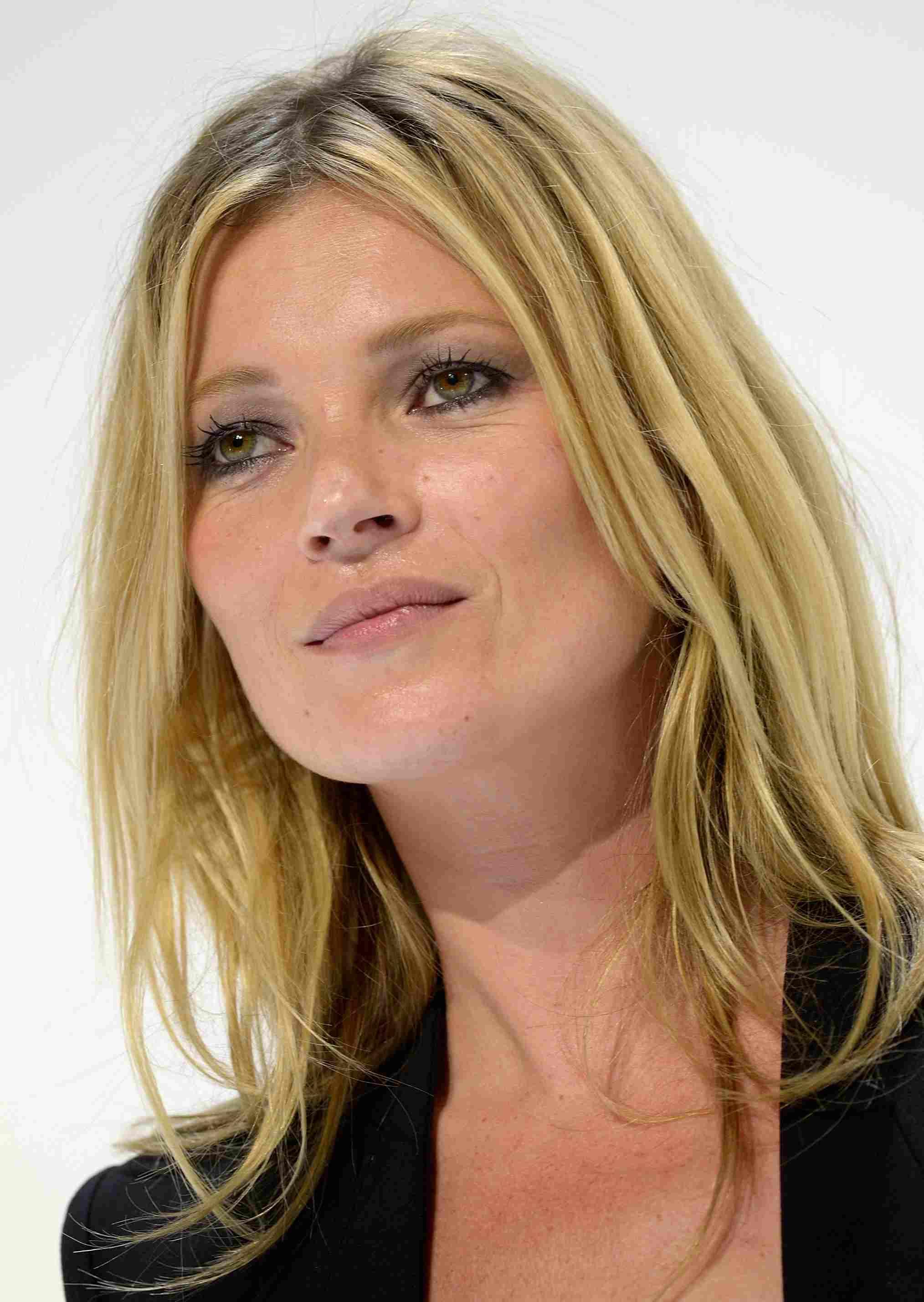Kate Moss square face shape