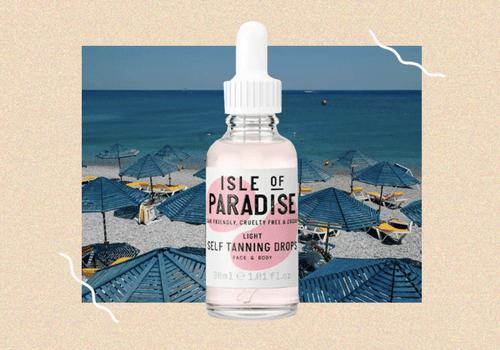 Isle of Paradise sunning drops