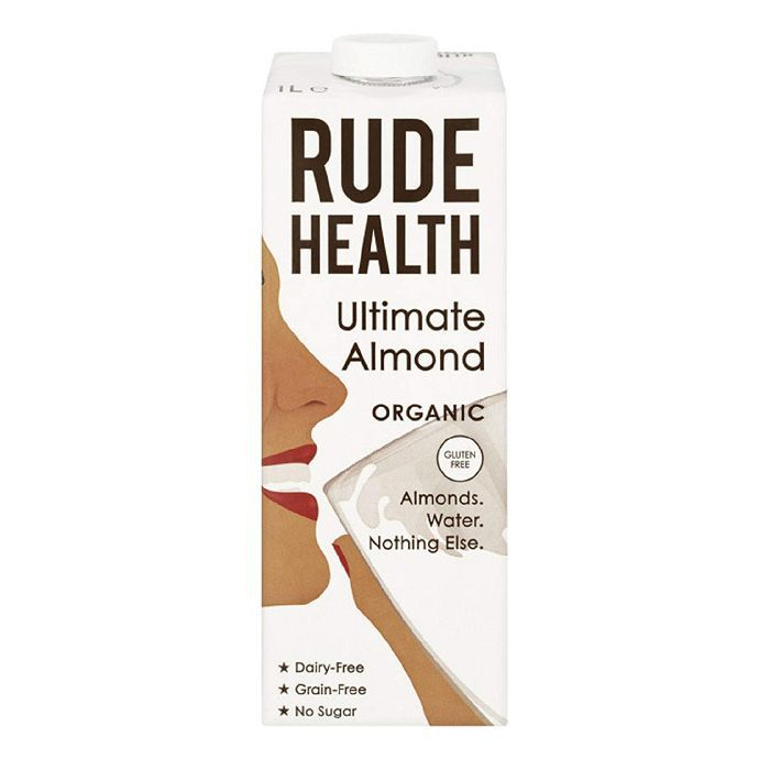 Rude Health Ultimate Almond Organic 1L (Pack of 2)