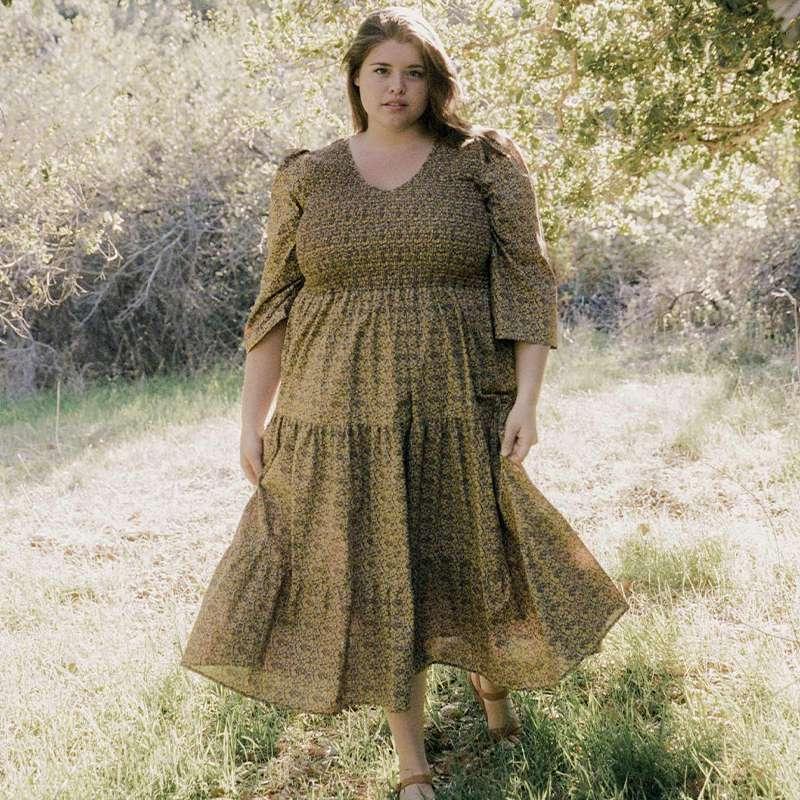 The Basil Dress
