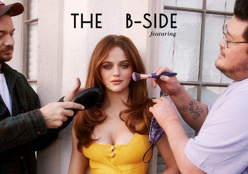 Joey King B Sides for Byrdie