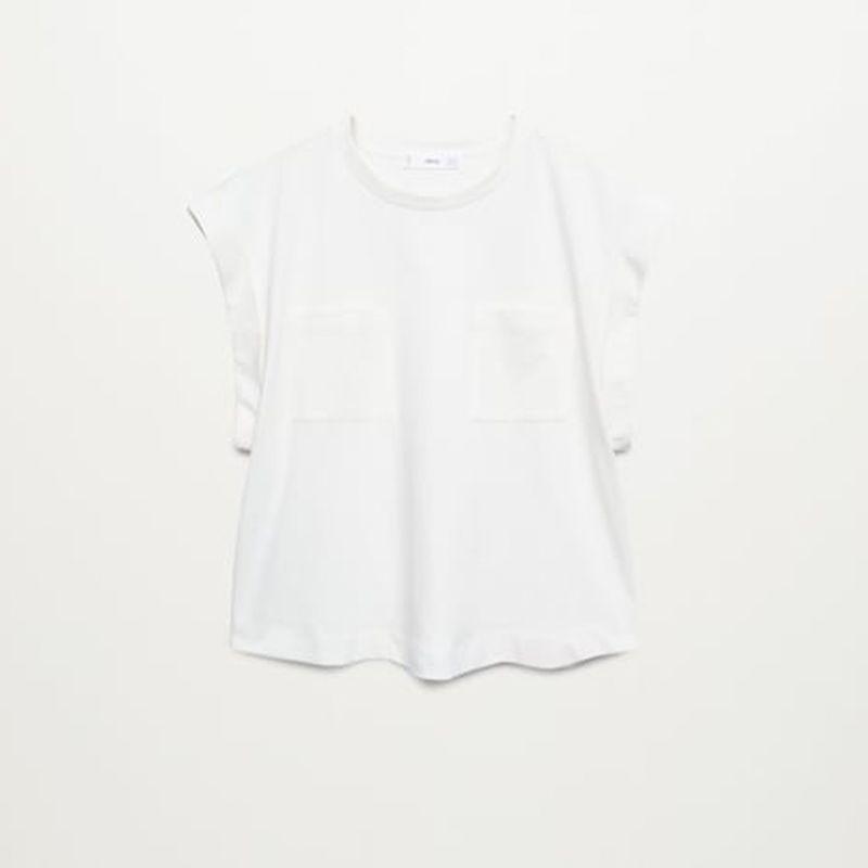 Pockets Cotton T-Shirt
