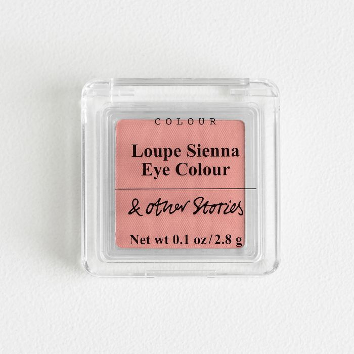 & Other Stories beauty review: & Other Stories Matte Eye Colour in Loupe Sienna