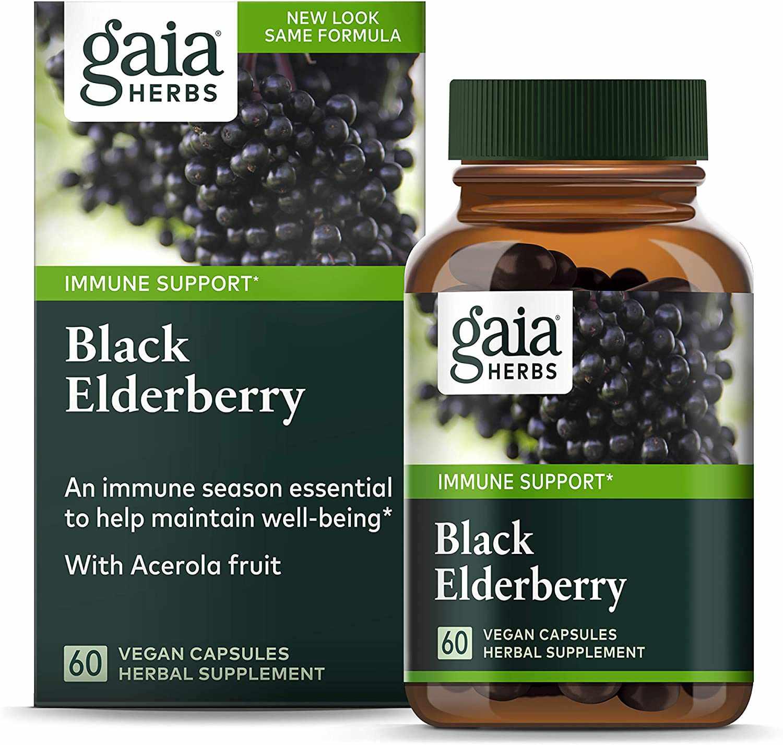 Gaia Herbs Black Elderberry