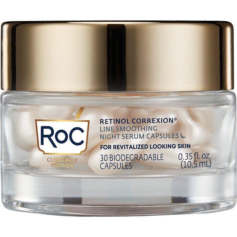 RoC Retinol Correxion Smoothing Night Serum Capsules