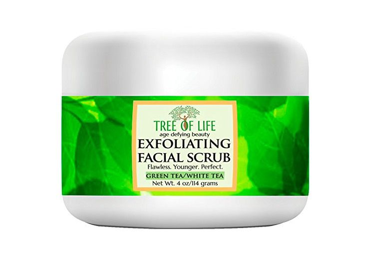 tree of life Exfoliating Facial Scrub Face and Body Cleanser