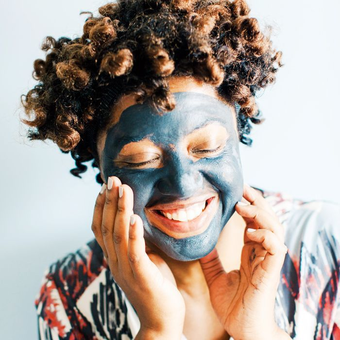 best face mask: woman wearing a face mask