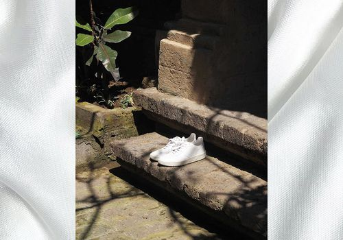 How to Clean White Sneakers Veja
