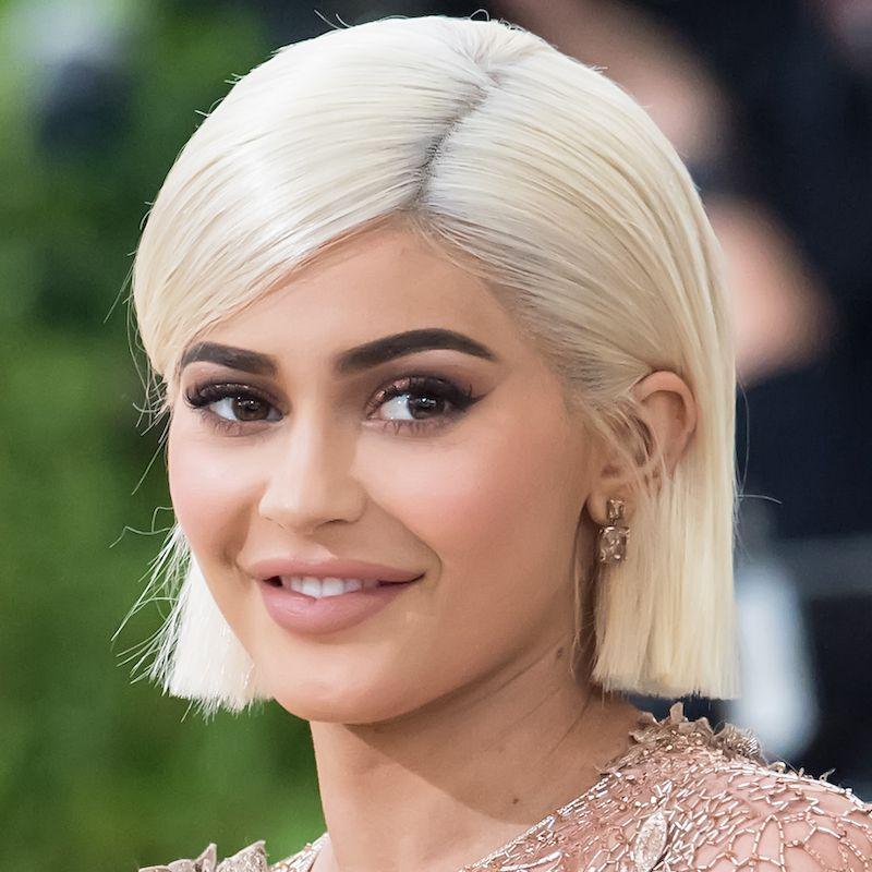 White Blonde Hair Kylie Jenner