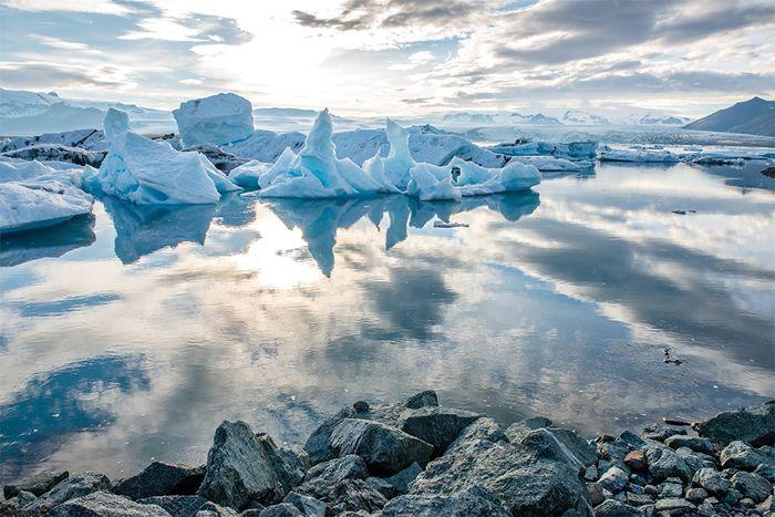 Scandinavian Glacier Water