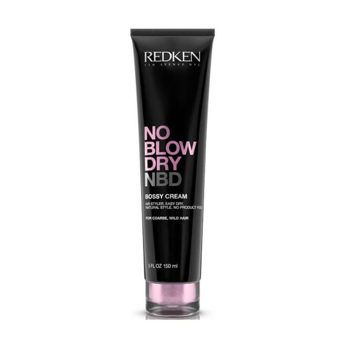 honeymoon beauty: Redken No Blow Dry Bossy Cream