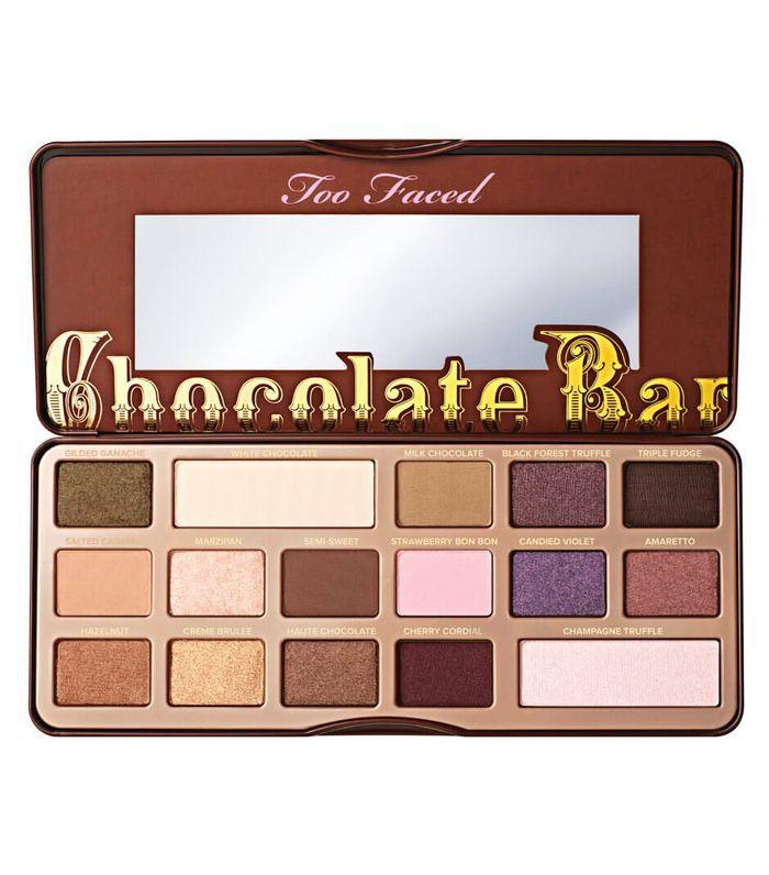 brown smokey eye: Too Faced Chocolate Bar Eyeshadow Palette